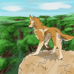 WoLF: Taking It All In by SomeSunnyBunny