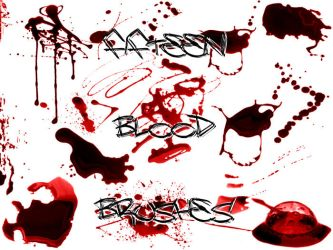 509 - Blood Brushes Set I by Blood--Stock