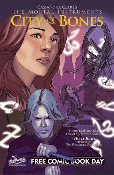 Mortal Instruments FCBD Cover by th3rdworld