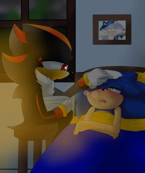 A sick day for Sonic  by YamixYugifangirl109 on DeviantArt