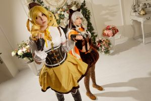 Mami Tomoe Cosplay by Bizarre-Deer
