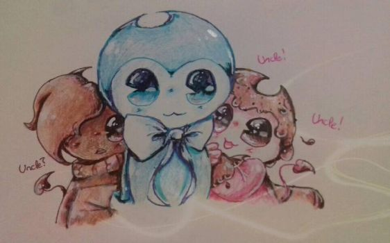 Uncle Blue by MariaCool1234