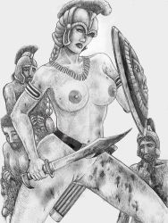 13 Amazons-Queen Penthesilea make mince meat... by chewjfsh