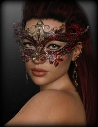 Red Mask by Ikke46