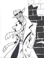 INVISIBLE MAN Comic Con sketch by Manthomex