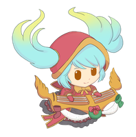 LoL - Silent Night Sona Chibi by cubehero