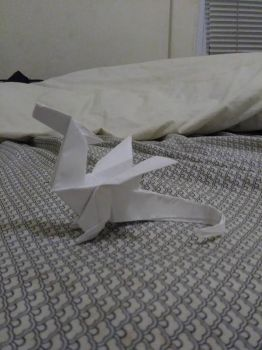 Origami Dragon by WhyNot1776