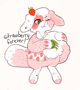 strawberry forever. $15. by loppyrae