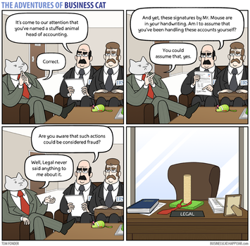 The Adventures of Business Cat - Signatory by tomfonder