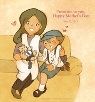 Mother's Day: Luke and Brenda by MagicianCelemis