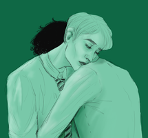 Scorpius Malfoy and Albus Potter by Sayliga