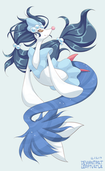 COMMISSION - Primarina by leafturtle