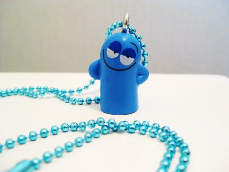 SOLD Bloo Foster's Necklace by DarkSaberCat