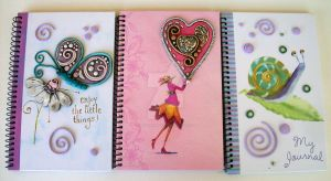 Whimsical Notebooks by MandarinMoon