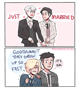 YOI: THEY GROW UP SO FAST by Randomsplashes