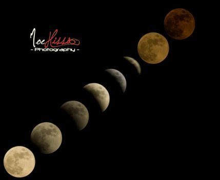 The Lunar Eclipse by Mhissi