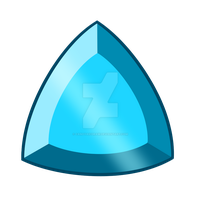 Blue Tourmaline Gem [NOT FREE TO USE] by CandyAICDraw
