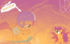 FiM: Scootaloo Wallpaper by M24Designs