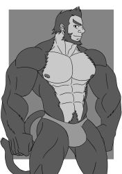 [PRACTICE SKETCH] BARA APE by rhimes1999