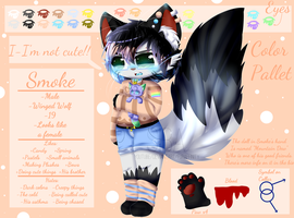 ~Smoke - Reference Sheet~ by ItsMeRedstarz