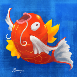 Magikarp by A-Hippocampus