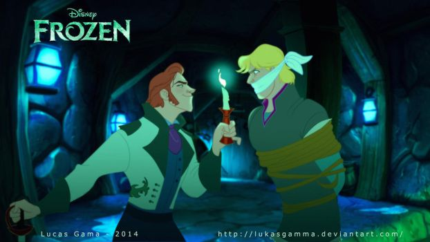 Kristoff and Hans by lukasgamma