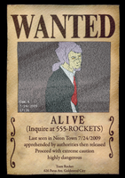 UBF - Wanted Poster by CasFlores