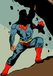 Superman by Ihtaver