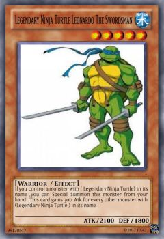 Legendary Ninja Turtle Leonardo The Swordsman by JBlaser