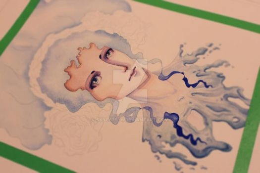 WIP: Water Goddess by skye67fly