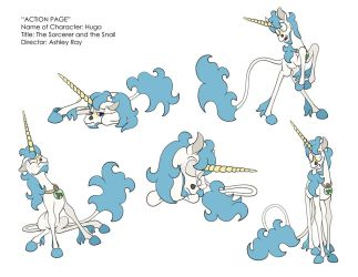 Hugo Pose Sheet by highray