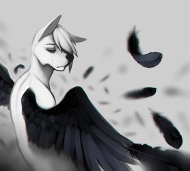 Dirty wings by Trabbii