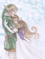 Always...Link and Zelda by the-infamous-padfoot