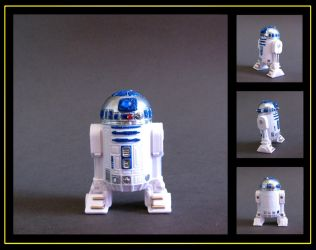 R2-D2 (She-Ra POP style) custom figure by nightwing1975