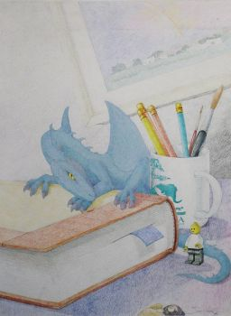 Blue Dragon (1998) by TwistedGarden