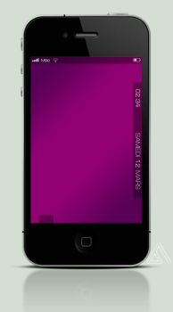 Lockscreen Simple Purple by FG-Paradiize