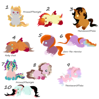 Unnamed Adopted Babies (NAMED) by WaterLillyHearts