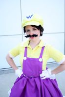Wa Wa Wario by bow-bat