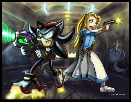 Shadow and Maria PWNING by NetRaptor