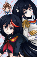 [F] - Kill La Kill by AngelDranger