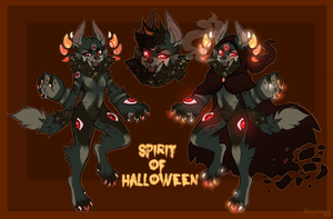 Spirit of Halloween - Adopt auction (CLOSED) by Negatable