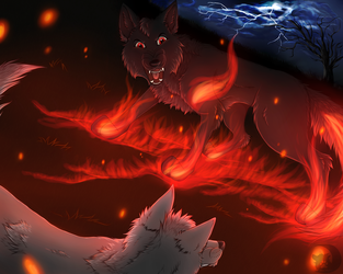 Rise of Fire [AT] by LunaWolf43