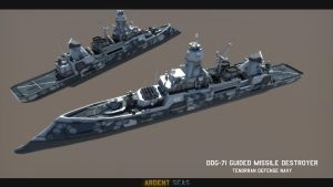 DDG-74-Class Destroyer 2.0 by Helge129