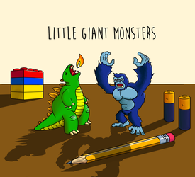 Little Giant Monsters by OperaGhost21