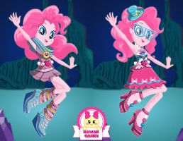 Equestria Girls Legend of Everfree Pinkie Pie by heglys