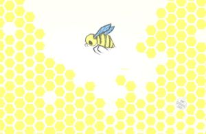 Honey Background by onecuriouschip