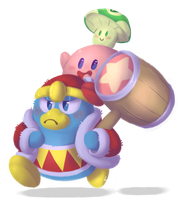 Kirb and Friends by LogicalLoony