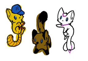 Adopts 3 by emmbug124