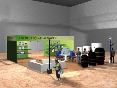 STAND GENERA 09 IN MADRID AETHON HEH SOLAR ENERGY by PatriciaCG