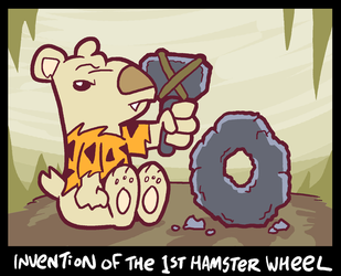Hamster Wheel by waffledawg